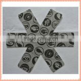 38cm diameter grey color printed 100%polyester nonwoven fabric heat resistant resuable table heat protector mat