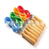 high quality cheap wooden jump rope / skipping rope fitness