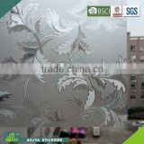 BSCI factory audit non-toxic vinyl pvc new design decorative adhesive black out window film