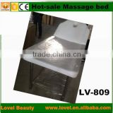 Newest fashion, durable, useful beauty bed salon facial table customized massaging bed medical paper roll bed