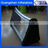 PVC inflatable football goal post portable