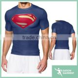 Alter Ego Short Sleeve Compression custom sublimated print blank dri fit t-shirts wholesale for men