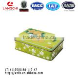 Hot sale wholesale custom tin box packaging for tea /mint/ cookie