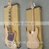 4 string solid mahogany wood JB electric bass guitar