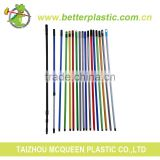 Factory promotional cheap colored high strength durable metal mop stick broom handle                                                                         Quality Choice