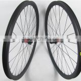 High end MTB carbon bicycle wheels, 30mmx30mm clincher and tubeless 29er carbon wheelset for mountain bike with DT240S hub