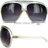 Fashion plastic sunglasses city vision sunglasses