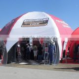 Giant inflatable air dome tent, dome tents for events, advertising inflatable spider tent for sale
