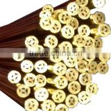 Multi Hole EDM Brss Electrode Tube & EDM Brass Pipe 1.1mm x 400mm