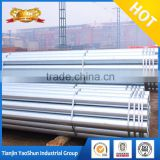 electrical gi conduit pipe specification/ erw steel pipe tupe/ gi pipe 6m length