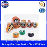 Shower Door Wheels,Plastic Pulleys Small Plastic Roller ,Nylon Roller Wheel with Bearing