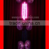 RGB colorful led robot suit,stage show light up robot costumes for sale,fiber optic clothing jacket for performance