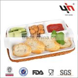New Rectangle Ceramic Food Tray