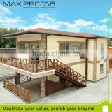 Modern Light Steel Structure Prefab Villa Architectural Design