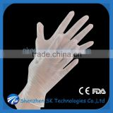 disposable medical vinyl glove for veterinary