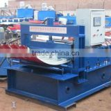 blue arc sheet metal curving Forming Machine with PLC control