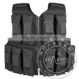 USA standard SGS tested Airsoft Vest with Nylon or 1000D Waterproof Fabric and ISO standard with Multi-pocket for military