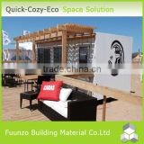 Economical Demountable Prefabricated Mobile Container Bar