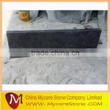 Blue limestone interior window sills