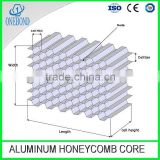 Aluminum honeycomb core for door