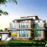 China Qingdao Baorun modern prefabricated house Germany steel structure design