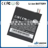 Battery gb t18287-2000 3.7v li-ion Battery BJ40100 for HTC Mobile Phone Models One S Z520e G25