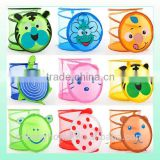 2015mother's best choice baby toy basket folding mesh laundry basket