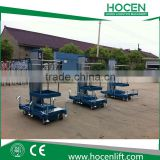 Factory Wholesale Aerial Cleaning Working Table Mobile Mast Hydraulic Electric Single Person Lifting Platform