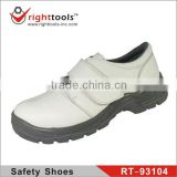 RT-93104 White kitchen Micro-fiber esd safety shoes