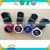 Factory direct sale 3 IN 1 univeral mobile phone clip lens fish eye+wide angle+ macro lensescell phone camera