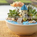 Custom High quality cute anime toys decoration home bonsai figurines decoration items