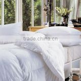 Wholesale Classic 25% white duck down comforter yangzhou wanda luxury feather home textile