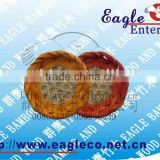 willow bamboo plate /willow bamboo basket