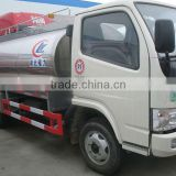 3-5m3 fresh milk truck for sale,dairy farm tank trucks for sale