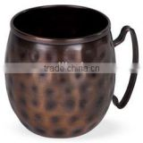 SOI Antique Copper Moscow Mule Mug hammered with copper antique finish 16oz
