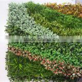 Home and outdoor decoration synthetic cheap artificial vertical green grass wall E08 04B11