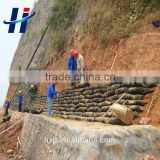 Manufacturer supply low price high quality geotextile sand bag/Protecting slope bag