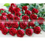 FLS08-1 GNW cheap artificial flower red rose for wedding decoration wedding flower making