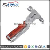 Multi-function Stainless Steel Emergency Escape Hammer With Plier Knife Can Opener Screwdriver