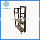 Hot Sale Simple Custom Folding Wooden Shelf