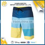 Brand quality fashion men sublimation surf 4 way stretch board shorts