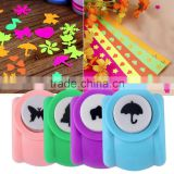 DIY Scrapbooking Decorative Hole Puncher Child Mini Puncher Printing Paper Hand Craft Puncher Shape Card Craft Punch Wholesale