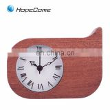 Consumable DIY Hot Selling Table Wooden Alarm Clock