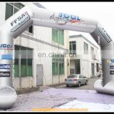 Hot selling inflatable race entrance gate,residential entrance gates,outdoor advertising arch designs