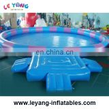 2017 new design summer hot sale kids adults Inflatable Swimming Pool