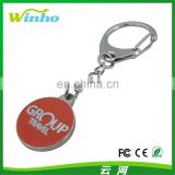 Captive Trolley Coin Key Ring