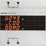 EM-001AK voltage leakage current three in one protector intelligent circuit breaker