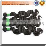 Grade AAAAA Natural Color Indian Wavy Remi Hair Wholesale