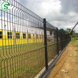 Hot galvanized wire mesh size 50*100 fence panel for road