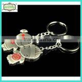 2014 high quality cute metal keyring baby shower souvenirs                                                                         Quality Choice